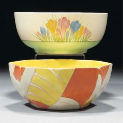 A Xanthic Octagonal Bowl