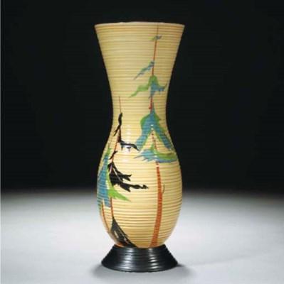 A Pine Grove Vase