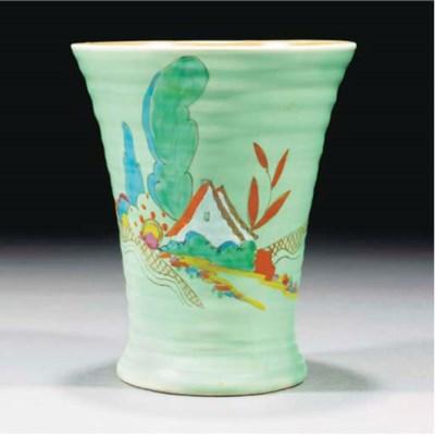 A Chalet Vase Shape 602