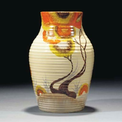 A Rhodanthe Lotus Vase