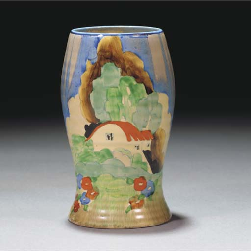 A Newlyn Vase Shape 583