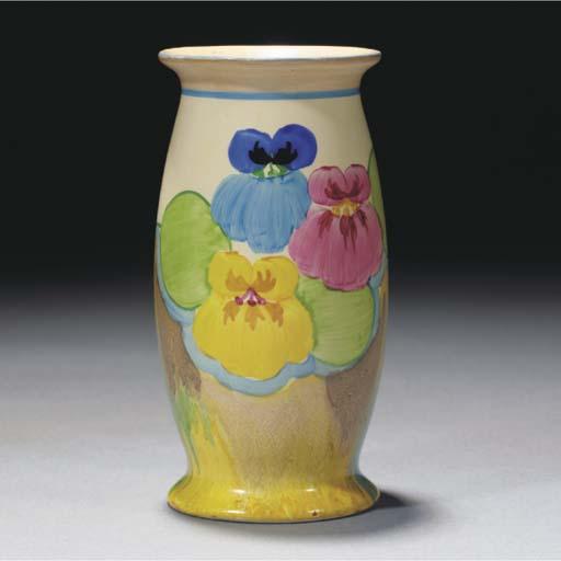 A Delecia Pansy Vase Shape 265