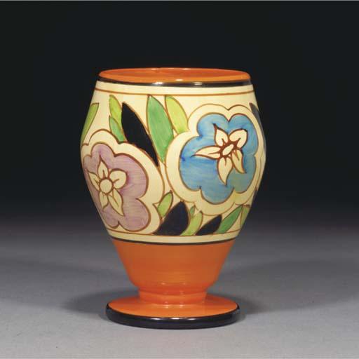 An Orange Gardenia Vase Shape