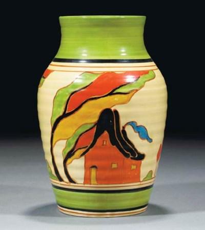 An Orange House Isis Vase