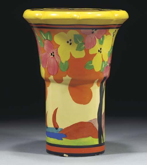 An Applique Palermo Vase Shape