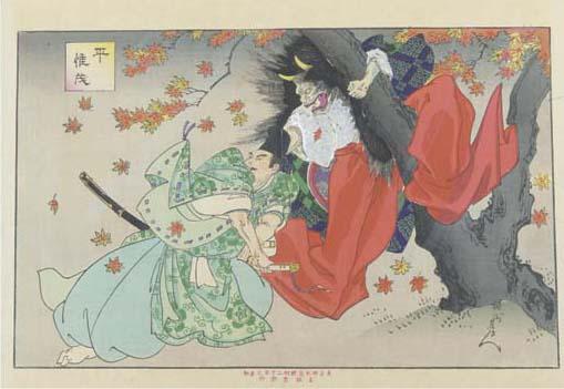 Yoshu Chikanobu (1838-1912), a