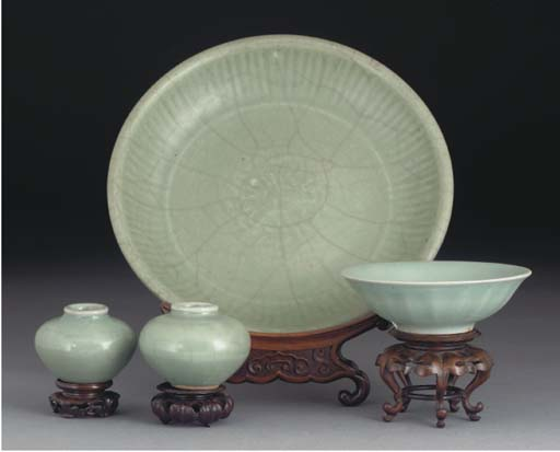 A Chinese celadon dish, Song D