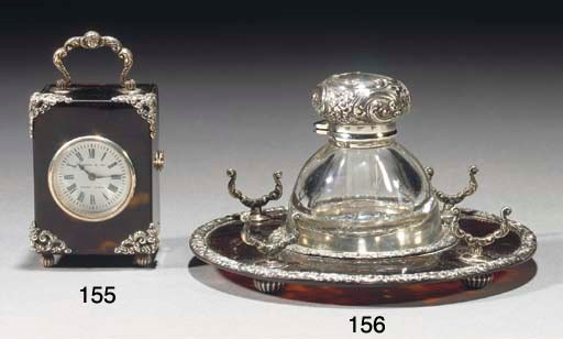 An Edwardian silver mounted to