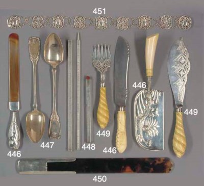 SILVER WRITING ACCESSORIES
