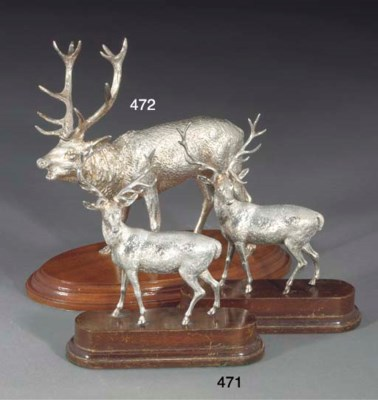 A Pair of Victorian Silver Sta