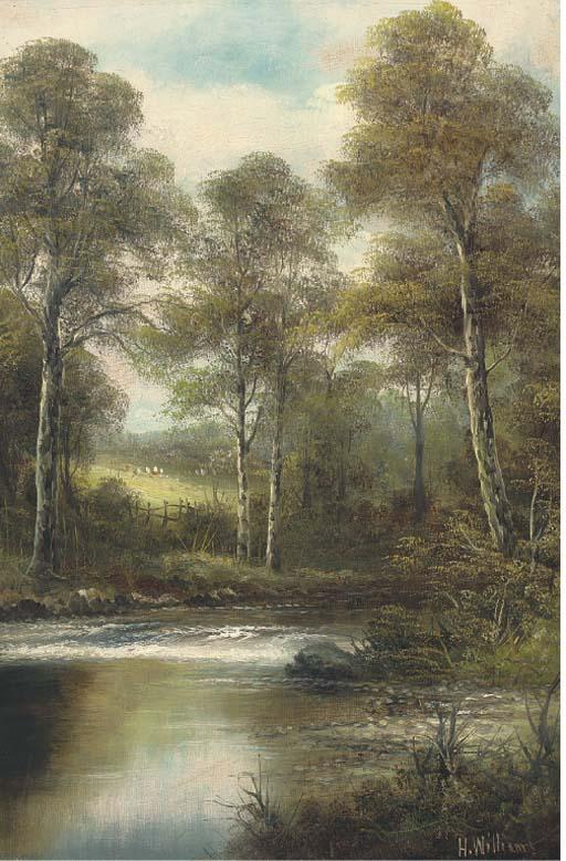 H. Williams, (British, late 19th Century)