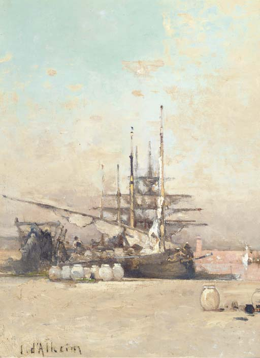 Jean D'Alheim (Russian, 1840-1