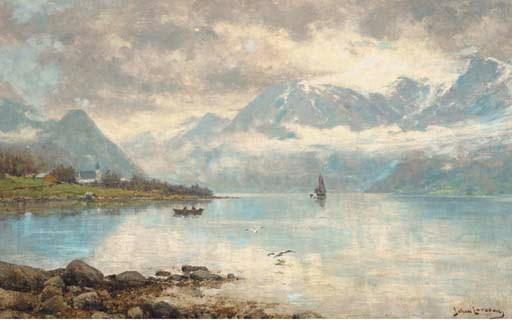 Johan Larssen (Norwegian, 1854