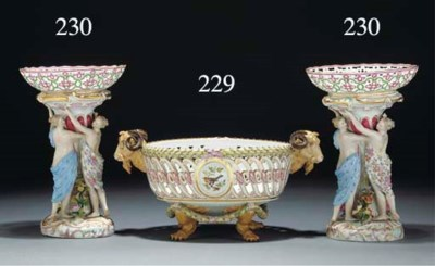 A Meissen ornithological two-h
