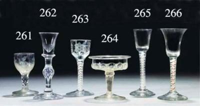 A 'tartan twist' wine-glass