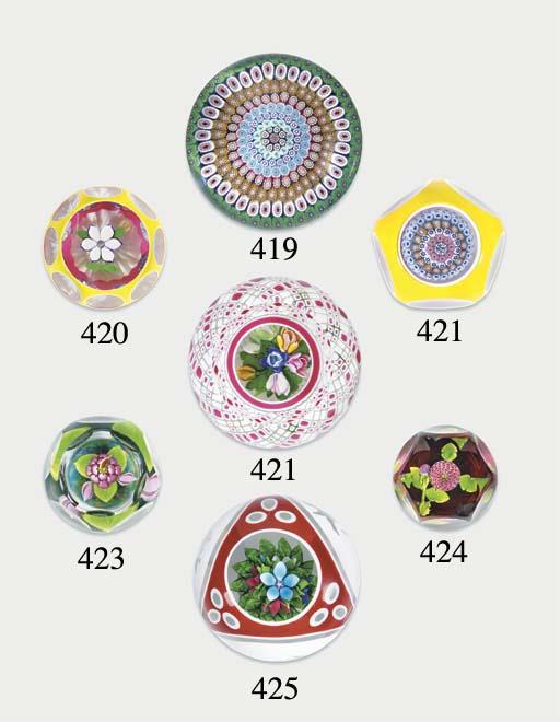 Five various Perthshire flower