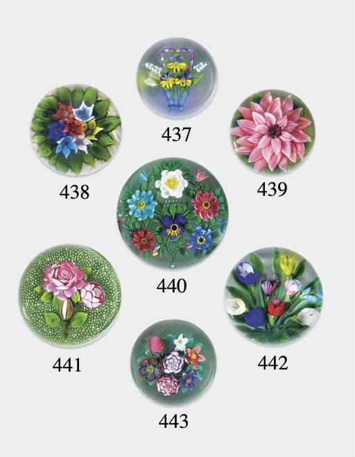 A Bob Bamford flat bouquet weight