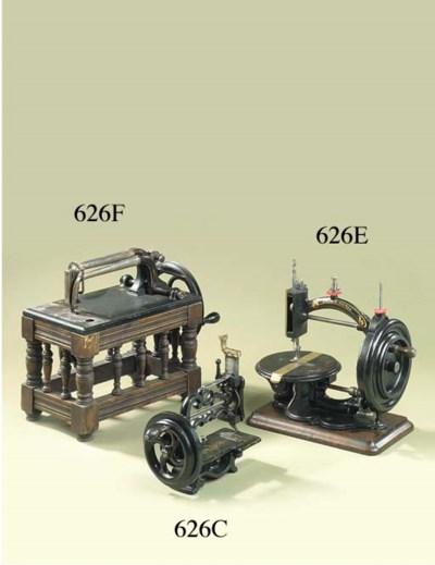 A Weir sewing machine,