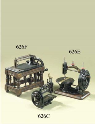 A Grover & Baker sewing machin