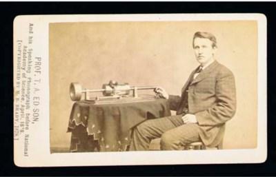 'Prof T.A. Edison'
