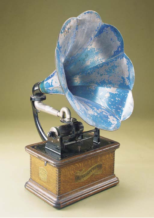 A Columbia Graphophone with to