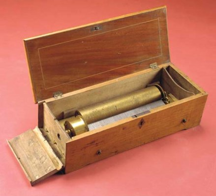 A key-wind musical box by Leco