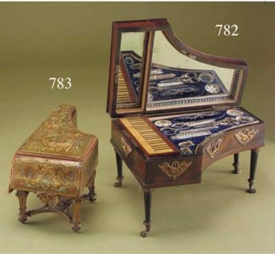 A musical sewing box