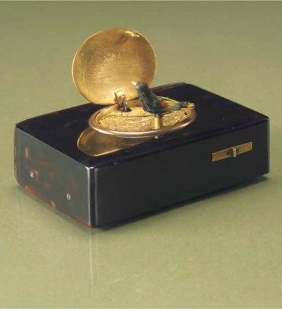 A singing bird box by Rochat