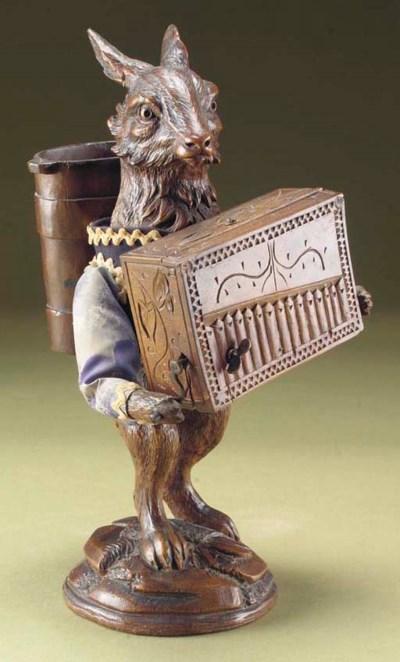 A Black Forest musical rabbit