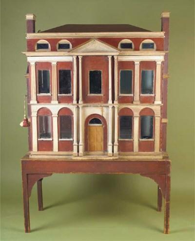 A George III baby house