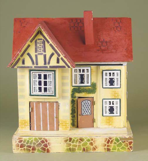 A Wagner red roof dolls' house