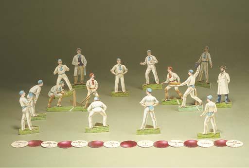 A rare Raphael Tuck Cricket Ga