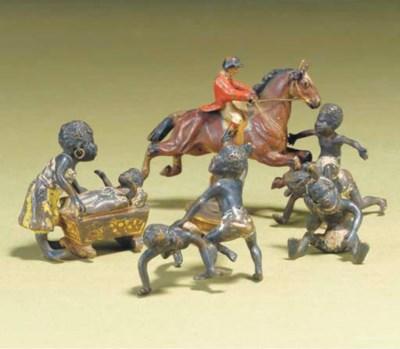 Austrian bronze miniature blac