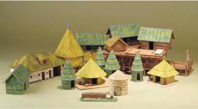 A fine model tribal village fo