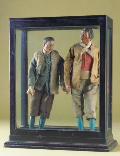 Two Neapolitan Creche figures