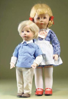 Late Kathe Kruse dolls