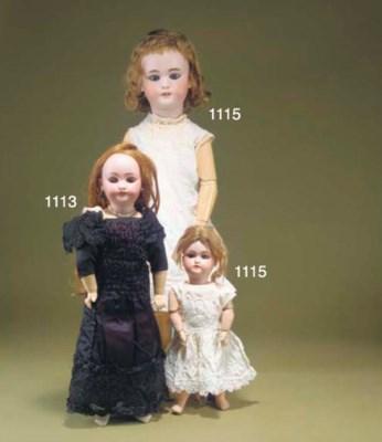 A Simon & Halbig 1079 doll