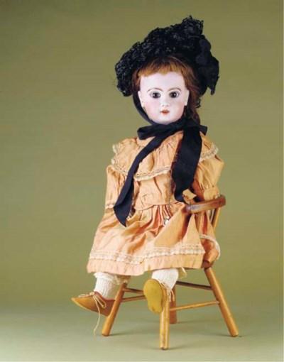 An unmarked Jumeau bébé