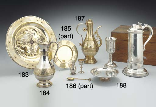 A VICTORIAN SILVER TRAVELLING
