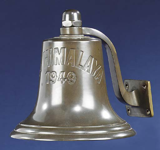 THE BRIDGE BELL OF THE P & O L