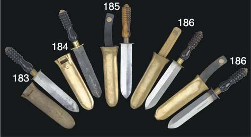 A SIEBE GORMAN DIVER'S KNIFE