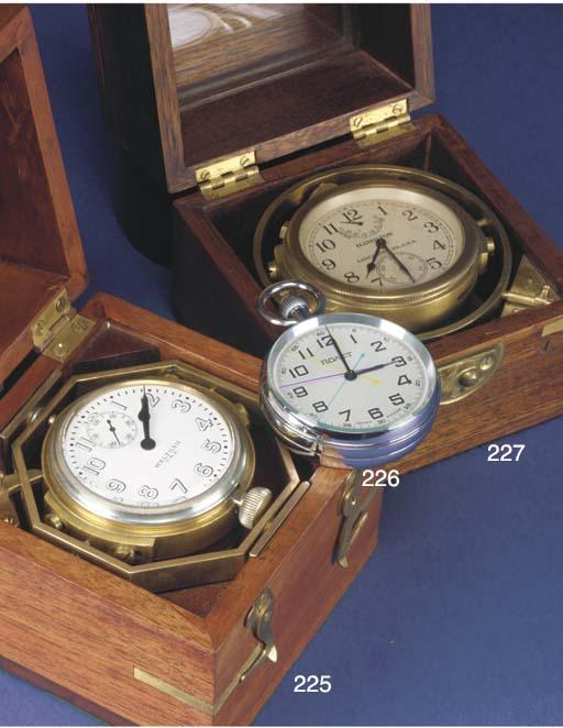 A Waltham 8-Day deck watch