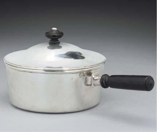 An Austrian Silver Saucepan, C