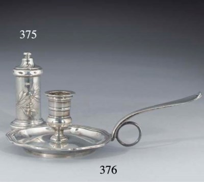 An Unusual French Silver Spice