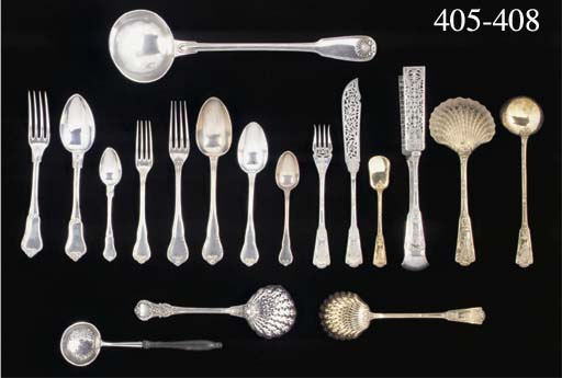 A French Silver and Silver-Gil