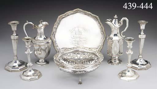 A George V Silver Centrepiece