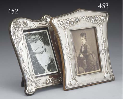 An Edwardian Silver Photograph