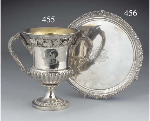 A George IV Silver Salver