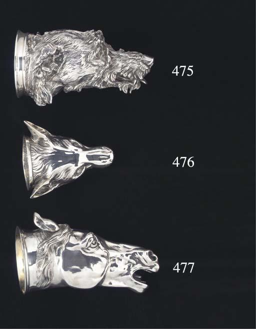 A George III Silver Stirrup Cu