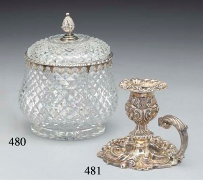 A Victorian Silver-Mounted Cut